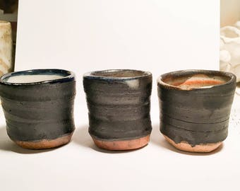 Ceramic Shot Cup Trio