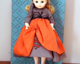 """Vintage 12"""" Madame Alexander Doll Poor Cinderella In Box #1540"""