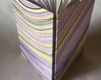 Marbled Coptic Stitch Notebook