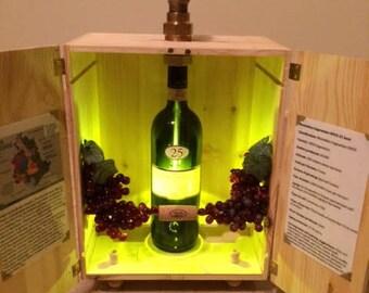 Wine Box Lamp, Wine Lamp, Lamps, Box Lamps, Wine Box