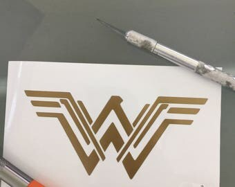 Wonder Woman Viny Decal