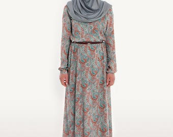 Bailey dress- paisley