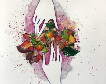 Strawberry Cordial