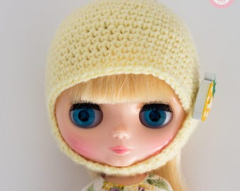 Blythe Middie Hat yellow strawberry