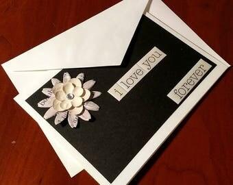 "Handmade ""I Love You"" Card"