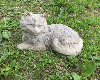 Cast Stone Cat