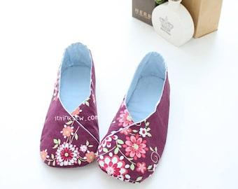 158 Women Kimono-Style Shoes PDF Sewing Pattern