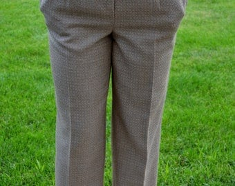 Vintage Tan Wool Pants