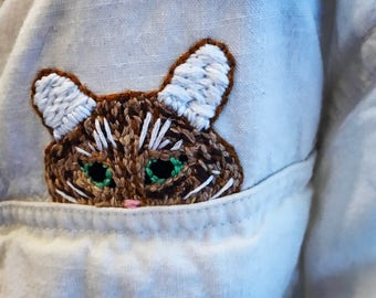 Custom pet embroidery