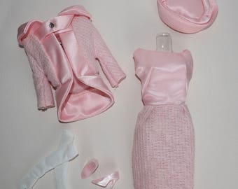 Vintage Barbie FASHION LUNCHEON 1966 Reproduction Outfit #1656 Complete!
