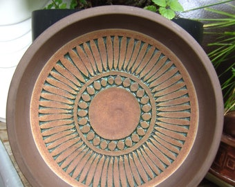 Swedish Thomas Anagrius ornamental ceramic bowl Sweden