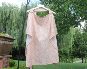 Nursing Cover, Apron Style Nursing Cover, Breastfeeding Cover