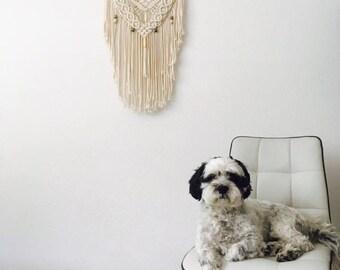 Macramé wandhanger / Macrame Wall Hanging / Modern Macrame / Macrame Tapestry / Macrame