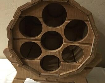 Wine rack, Wine, Wine bottles, Wine barrel, Gift, Wine holder, Party, Handmade