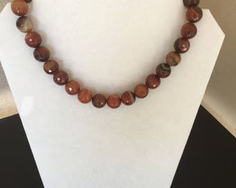 Agate Necklace by Dobka