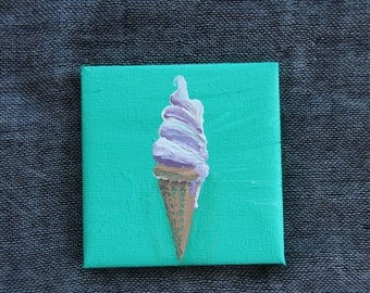 Vanilla Soft Serve - Mini Painting