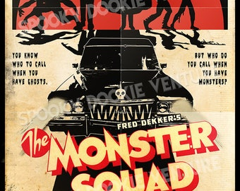 The Monster Squad (1987) 11x17 Poster