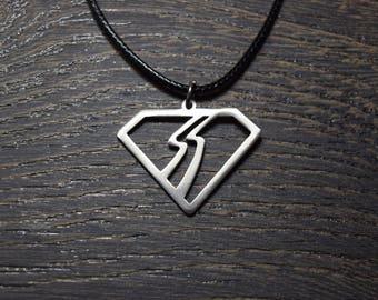 Bon Jovi necklace pendant emblen amulet logo symbol pin choker sign sigil  Jon Bon Jovi