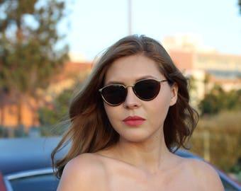 80's Half-Moon Sunglasses