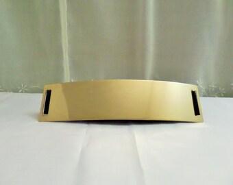 Gold metal elastic belt