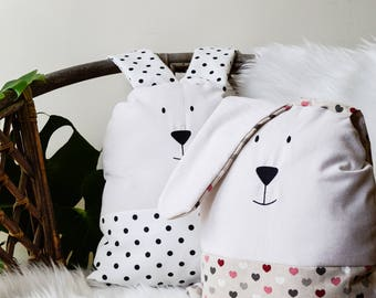 Decorative Pillow Bunny for Kids