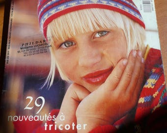 Tricot magazine : PHILDAR creations  ( 29 knitting pattern for child)