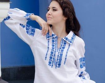 Ukrainian vyshyvanka Vyshyvanka blouse  Women Blouses