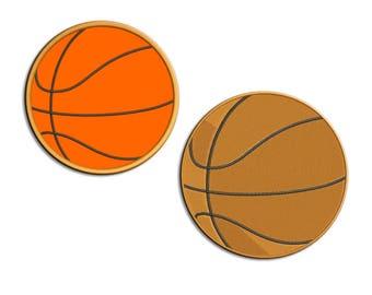 Basketball Embroidery design Applique - Machine embroidery design