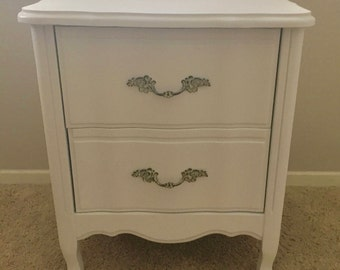 1970s French Provincial Nightstand