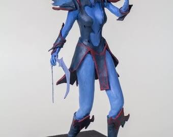 Handmade Vengeful Spirit Figurine