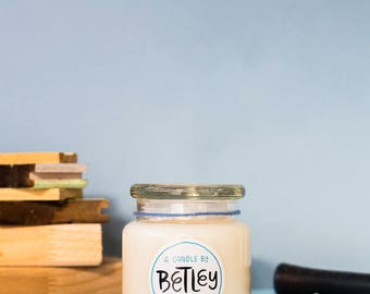 Betley | Large Wild Strawberry | Natural Soy Candle | Handmade | Social Enterprise