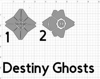 Destiny Ghost Little Light Guardian warlock titan hunter vanguard vinyl Decal ***PLEASE READ***