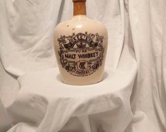 okeeffs malt wiskey jug