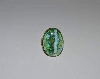 18 x 25 mm unique bronze ring