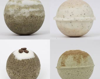 "Individual pack ""COFFEE SHOP"" bath bomb"