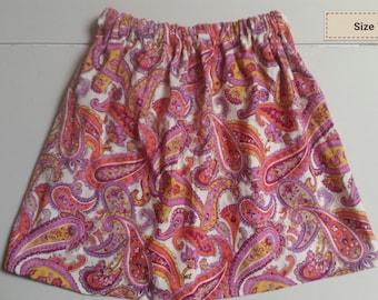 Paisley skirt 7