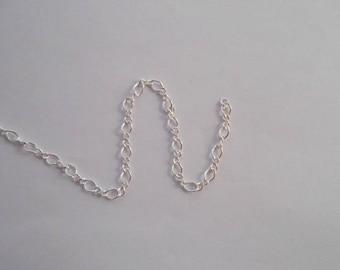Pretty chain alternating 3.1 mm 925 sterling silver