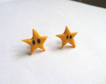 Stud Earrings stars Mario Fimo