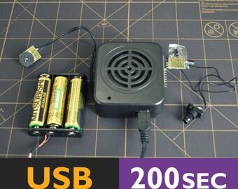 Motion Sensor Sound Box | Motion Activated, Talking Box With Motion Sensor, Motion Detector, Recordable Box  | 200 Seconds