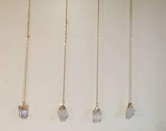 Gold Plated Crystal Stone Necklace