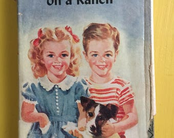 The Bobbsey Twins on a Ranch - Laura Lee Hope - 1935 - First Edition