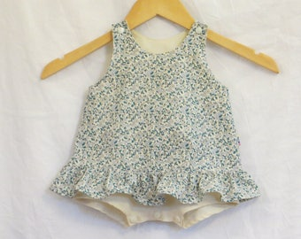 robulette 6 month cotton flower print