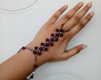 Kaleidoscopic Hand Chain Bracelet