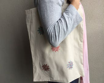 Flower Calico Tote