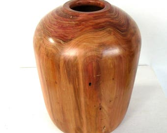 Amphora, wood vase, wooden vase, decorative vase, design vase, home interior, centrepiece, handmade vase
