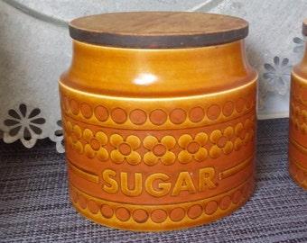 Classic Hornsey Saffron (1974) Sugar Jar