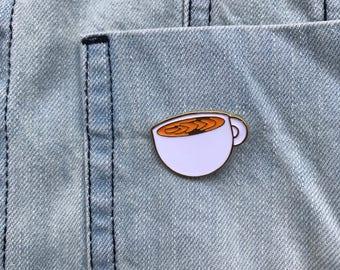 Coffe Enamel Pin