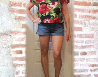 Corsage flowers Bare shoulders model BETTY B