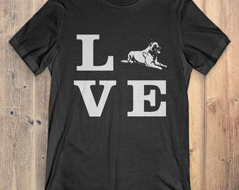 Dutch Shepherd Dog T-Shirt Gift: I Love Dutch Shepherd