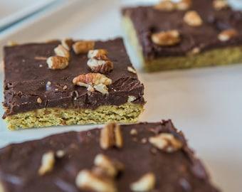 Pecan Protein Bars, Healthy Vegan Recipe, Gluten free protein bar, Sugar free dessert, Superfood Recipe